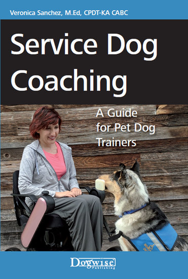 Service Dog Coaching - A Guide for Pet Dog Trainers - cover