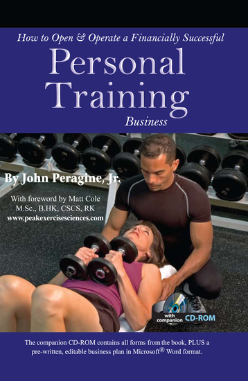 How to Open & Operate a Financially Successful Personal Training Business With Companion CD-ROM - cover
