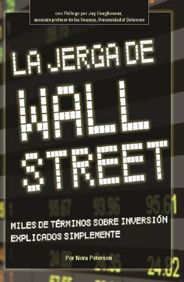 La Jerga De Wall Street - cover