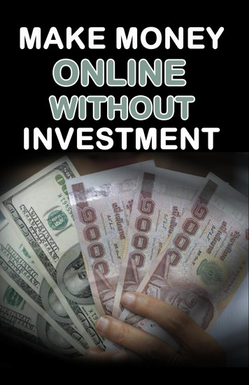 Make Money Online without Investment - cover