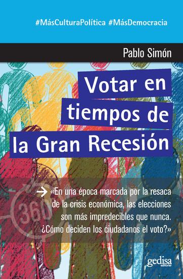 Votar en tiempos de la Gran Recesión - cover
