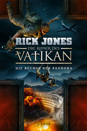 DIE BÜCHSE DER PANDORA (Die Ritter des Vatikan 4) - Thriller - cover
