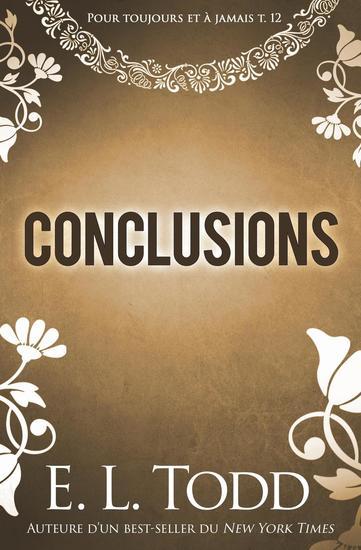Conclusions - Pour toujours et à jamais #12 - cover