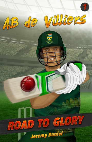 AB de Villiers - Road to Glory - cover