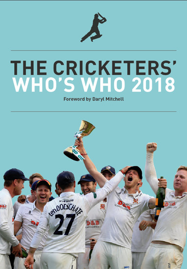 The Cricketers' Who's Who 2018 - cover