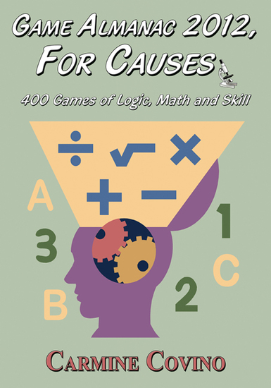 Game Almanac 2012 For Causes: 400 Games of Logic Math and Skill - cover