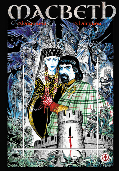 Macbeth: The Graphic Novel - cover