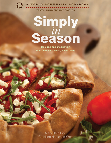 Simply in Season - Recipes and inspiration that celebrate fresh local foods - cover