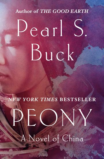 Peony - A Novel of China - cover