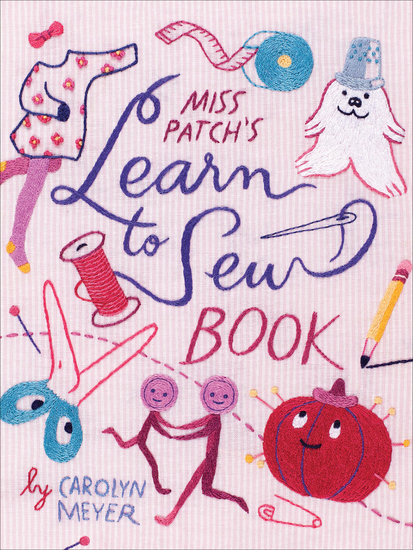Miss Patch's Learn to Sew Book - cover