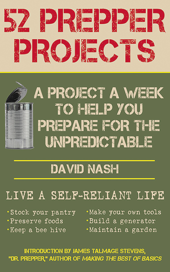 52 Prepper Projects - A Project a Week to Help You Prepare for the Unpredictable - cover