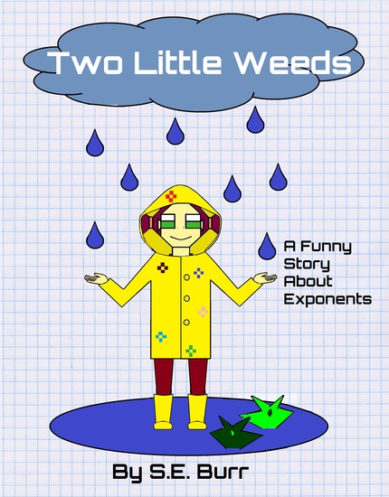 Two Little Weeds (Funny Math Stories #5) - A Funny Story About Exponents - cover