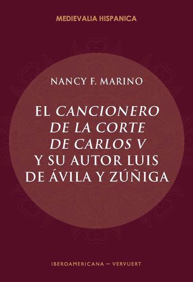 El Cancionero de la corte de Carlos V y su autor Luis de Ávila y Zúñiga - cover