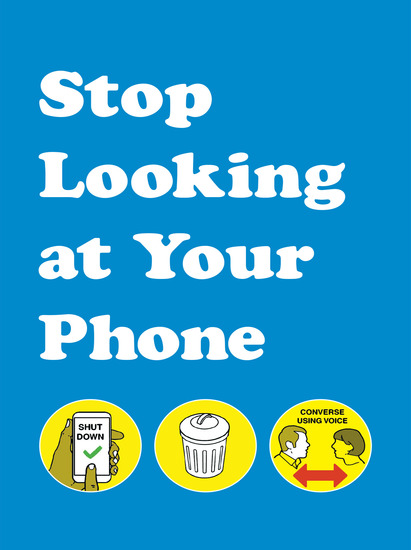 Stop Looking at Your Phone - cover