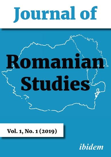 Journal of Romanian Studies - Volume 11 (2019) - cover