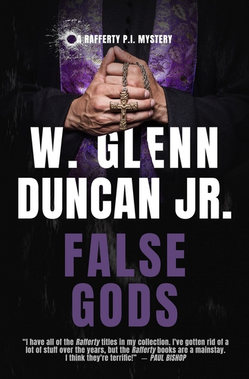 False Gods - A Rafferty PI Mystery - cover