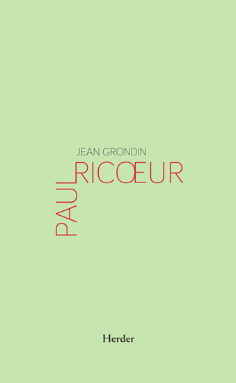 Paul Ricoeur - cover