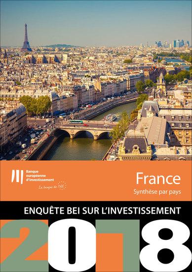 Enquête BEI sur l'investissement en 2018 - France - cover