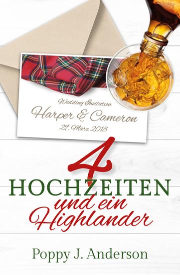 Vier Hochzeiten und ein Highlander - cover