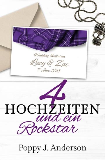 Vier Hochzeiten und ein Rockstar - cover