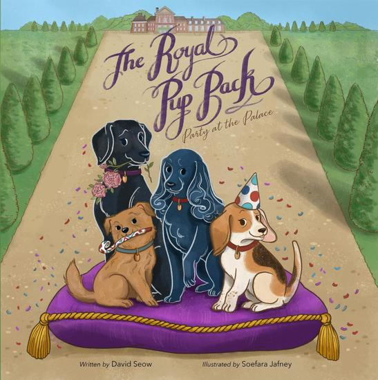 The Royal Pup Pack: Party at the Palace - cover