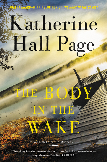 The Body in the Wake - A Faith Fairchild Mystery - cover