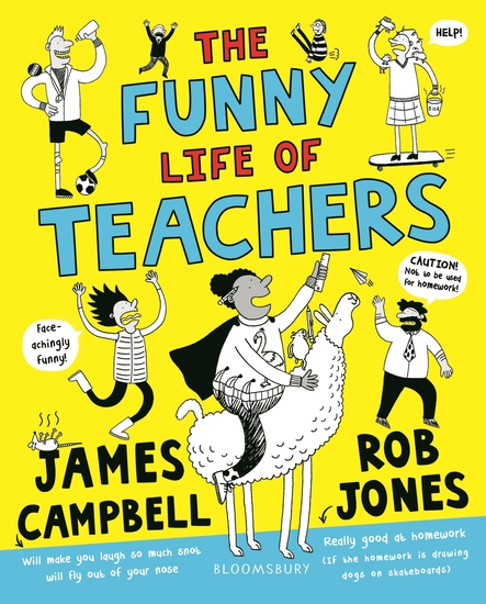 The Funny Life of Teachers - cover