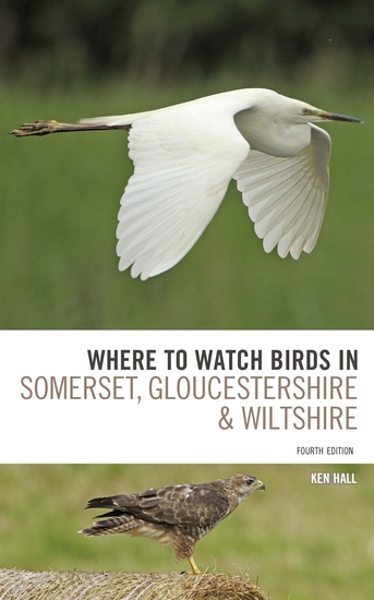 Where To Watch Birds in Somerset Gloucestershire and Wiltshire - cover