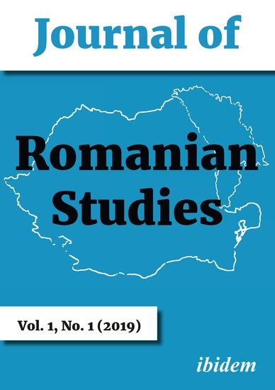 Journal of Romanian Studies - Volume 11 (2019) - cover