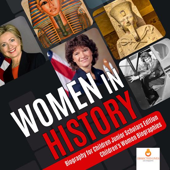 Women in History   Biography for Children Junior Scholars Edition   Children's Women Biographies - cover