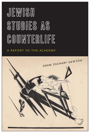 Jewish Studies as Counterlife - A Report to the Academy - cover