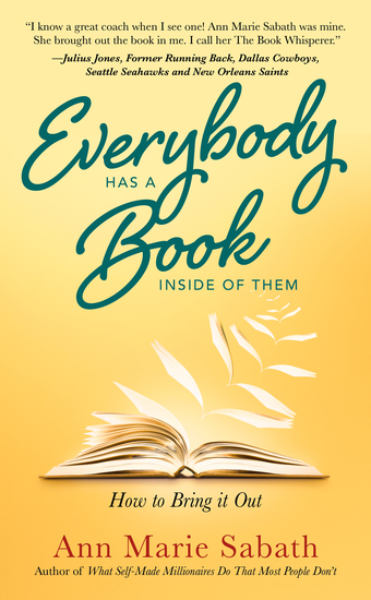 Everybody Has A Book Inside of Them - How To Bring It Out - cover
