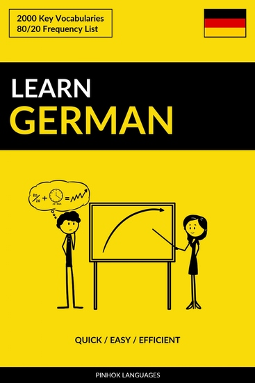 Learn German - Quick Easy Efficient - 2000 Key Vocabularies - cover