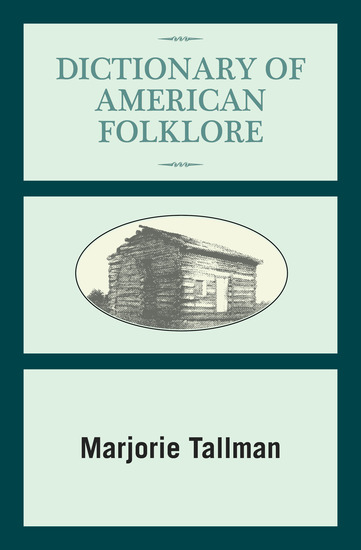 Dictionary of American Folklore - cover