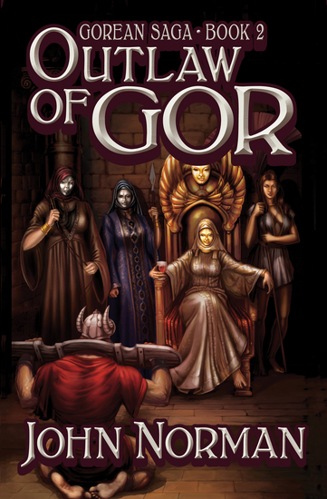 Outlaw of Gor - cover