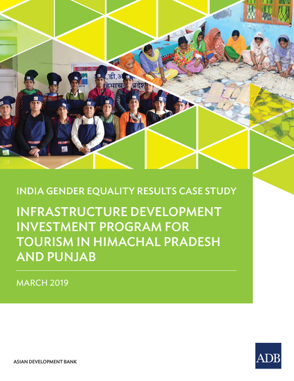 Infrastructure Development Investment Program for Tourism in Himachal Pradesh and Punjab - India Gender Equality Results Case Study - cover