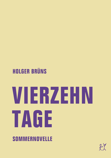 Vierzehn Tage - Sommernovelle - cover