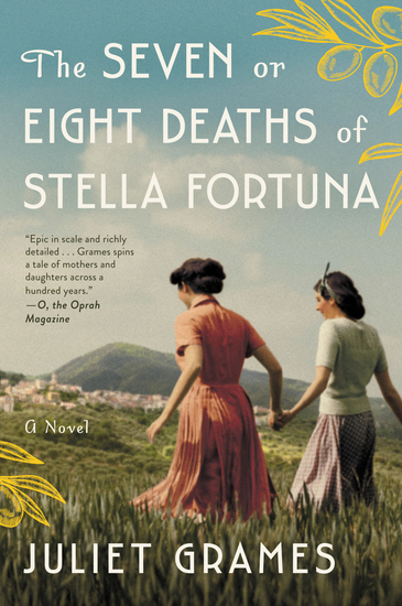 The Seven or Eight Deaths of Stella Fortuna - A Novel - cover