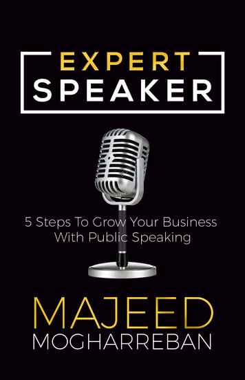 Expert Speaker - 5 Steps To Grow Your Business With Public Speaking - cover