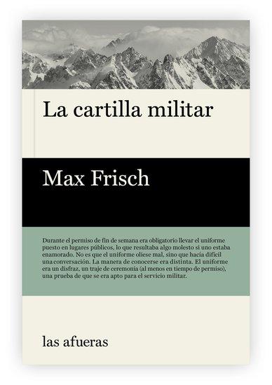 La cartilla militar - cover