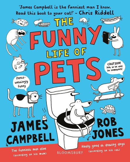 The Funny Life of Pets - cover