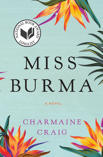 Miss Burma - A Novel - cover