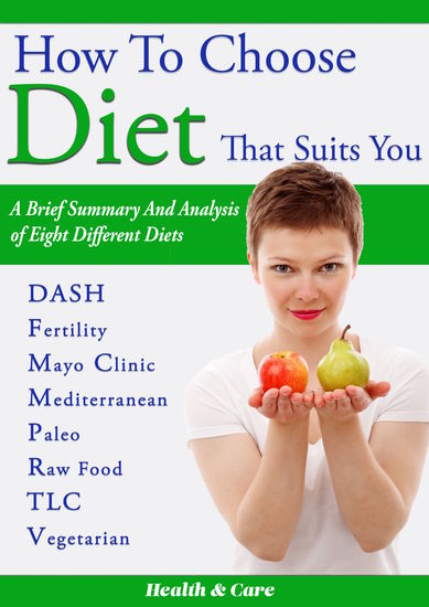 How to Choose Diet That Suits You - A Brief Summary and Analysis of Eight Different Diets - cover