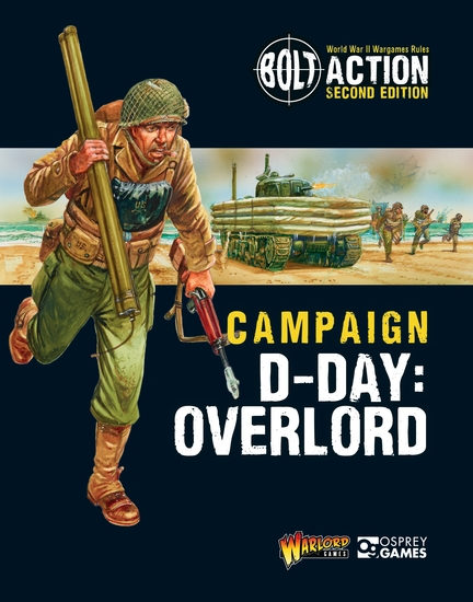 Bolt Action: Campaign: D-Day: Overlord - cover