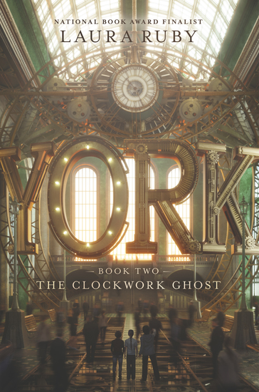 York: The Clockwork Ghost - cover