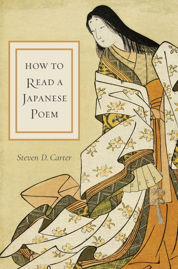 How to Read a Japanese Poem - cover