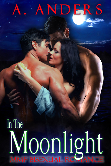 In The Moonlight - MMF Bisexual Romance - cover