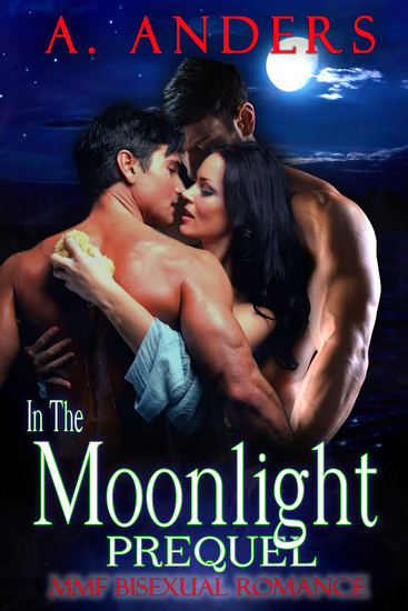 In The Moonlight: Prequel - MMF Bisexual Romance - cover