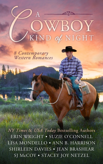 A Cowboy Kind of Night - 8 Contemporary Western Romances - cover
