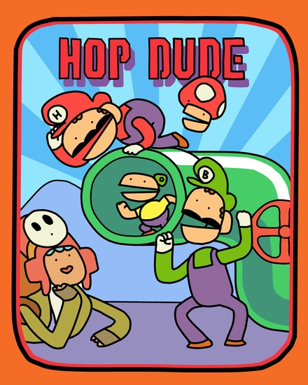 Hop Dude - cover